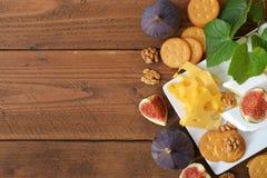 Différents genres de fromage Photos stock