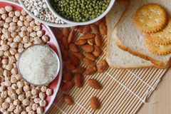 Différents genres de grains Image stock