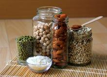 Différents genres de grains Image libre de droits