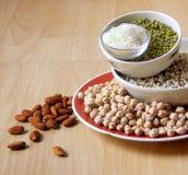 Différents genres de grains Photos stock