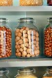 Différents genres de noix Photographie stock
