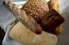 Différents genres de pain Photo stock