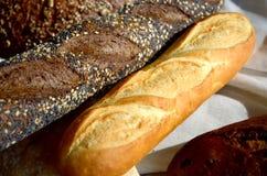 Différents genres de pain Photographie stock libre de droits