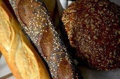 Différents genres de pain Photo libre de droits