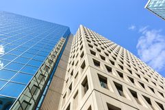 Différents gratte-ciel à Ottawa du centre Image stock