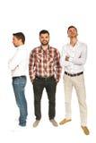 Différents hommes d'affaires Image libre de droits