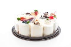 Différents morceaux de gâteau Images libres de droits