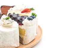 Différents morceaux de gâteau Image stock