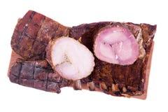 Différents morceaux de viande sur multiplié d'isolement image libre de droits