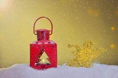 Différents ornements de Noël Image stock