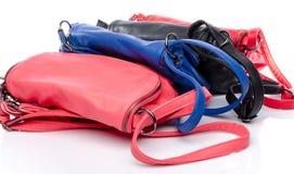 Différents sacs à main colorés Image stock