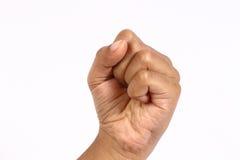 Différents signes de main Photographie stock libre de droits