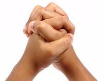 Différents signes de main Images libres de droits