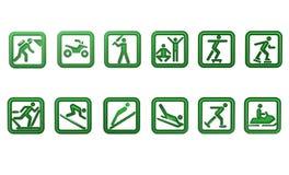 Différents sports Photo libre de droits