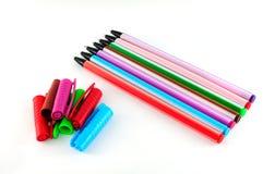 Différents stylos colorés Image stock