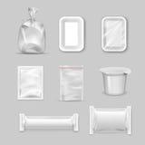 Différents types d'emballage Photos libres de droits