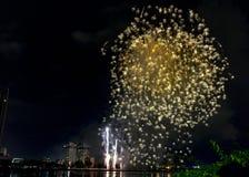 DIFF da nang fajerwerków Międzynarodowy festiwal zdjęcia royalty free