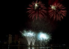 DIFF da nang fajerwerków Międzynarodowy festiwal obrazy stock