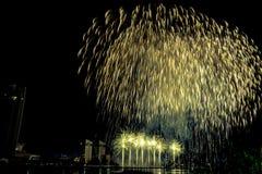 DIFF Da Nang International Fireworks Festival stock photo