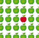 Difference apple vector Royalty Free Stock Photo