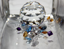 The Difference of Gems. Royalty Free Stock Photography