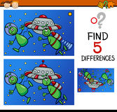 Differences for preschoolers Royalty Free Stock Photos