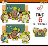 Differences task for children Royalty Free Stock Photography