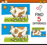 Differences task for children Stock Images