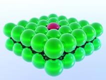 Different 3d ball vector illustration