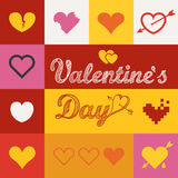 Different abstract heart icons collection Stock Photo