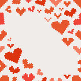 Different abstract hearts Royalty Free Stock Photo