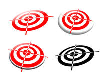 Different abstract targets Stock Images