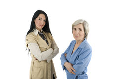 Different aged businesswoman Stock Photo