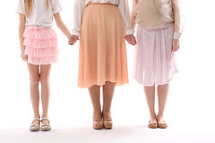 Different aged female persons together Royalty Free Stock Photos