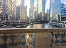 DIFFERENT ANGLE MAGNIFICENT MILE, CHICAGO stock photography