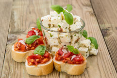 Different Antipasto Royalty Free Stock Photo