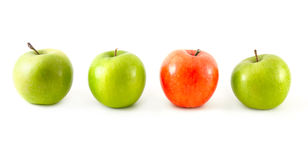 Different apples Royalty Free Stock Photos