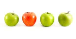 Different apples Royalty Free Stock Image