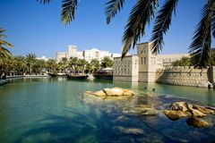 Different architecture of Dubai Royalty Free Stock Photos