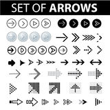 Different arrows Stock Images