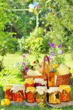 Different autumn preserves Royalty Free Stock Photo