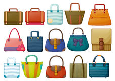 Different bag designs Stock Photos