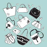 Purse set Stock Image