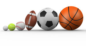 Different ball Stock Photo