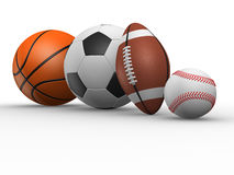 Different ball Stock Photography