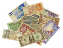 Different banknotes Royalty Free Stock Image