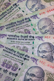 Different banknotes from India Stock Images