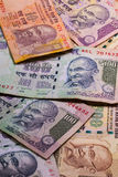 Different banknotes from India Royalty Free Stock Images