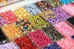 Different beads Stock Images