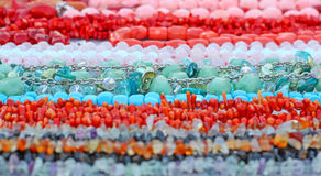 Different beads Stock Image